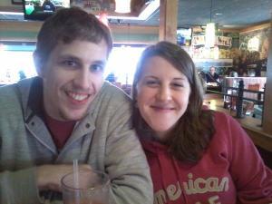 James Franklin and Melanie Lillie