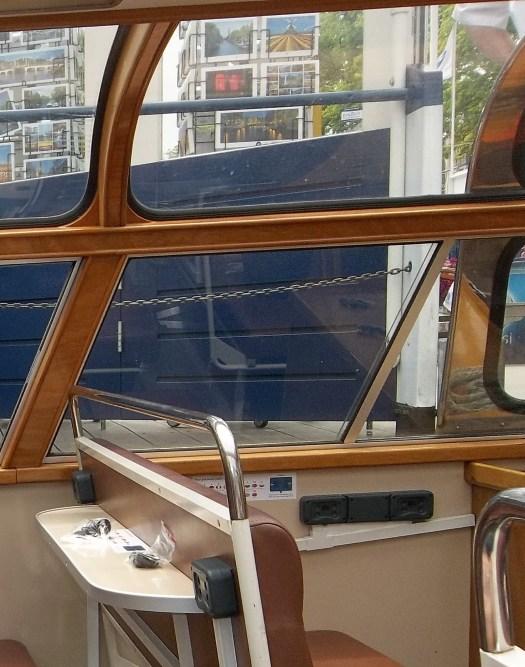 Amsterdam tour boat