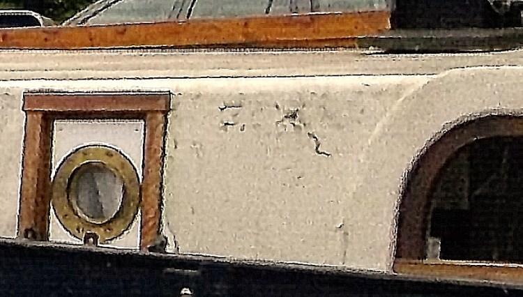 portholes on the Amstel