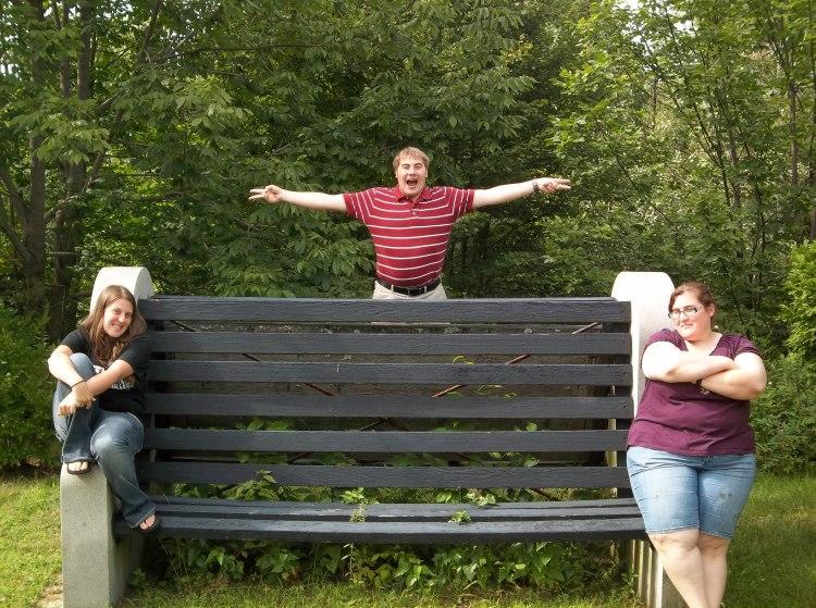 Melanie, Joe, and Amanda