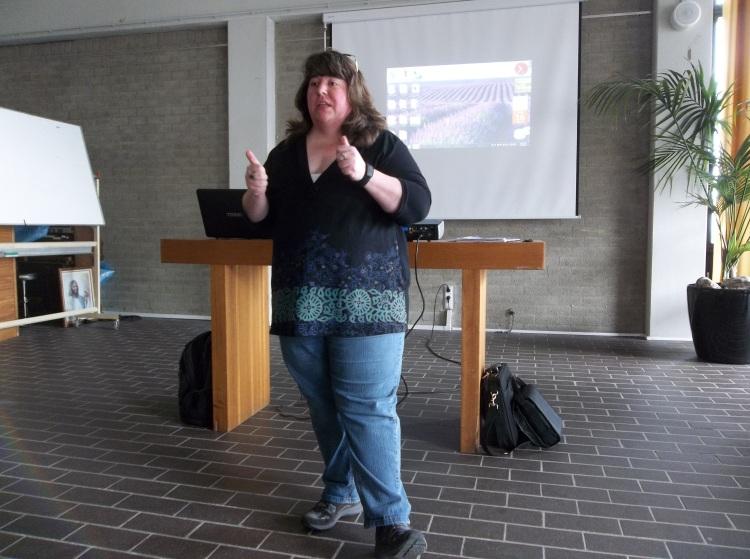 Brenda teaching