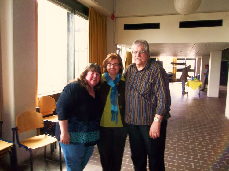 Brenda, Muriel and George