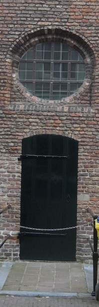 Church of the Holy Spirit, Side Entrance, Delft