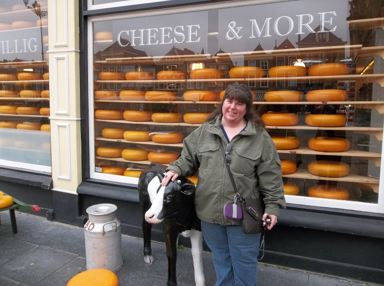 Brenda & the Cheese Window, Delft