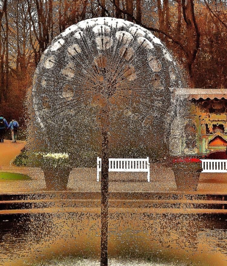 The Water Dandelion, Keukenhof
