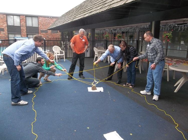 Team building excercise