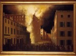 My favorite portrait of the  day... Burning of the Boston Granery