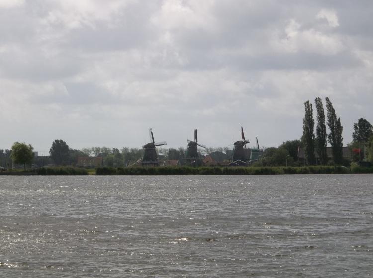 Windmills at Zaanseschans