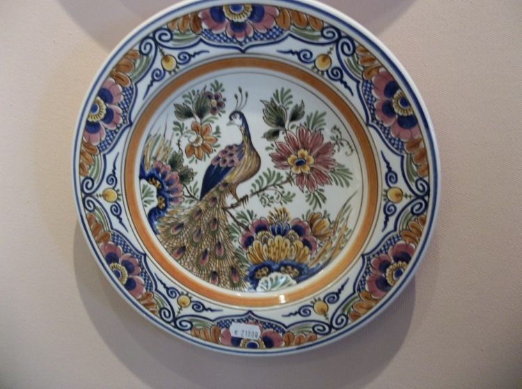 Peacock  Design at Delft Factory