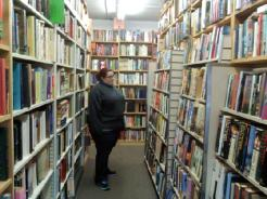 Amanda at the Book Barn