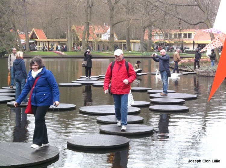 A different kind of water wheel, Kokenhof