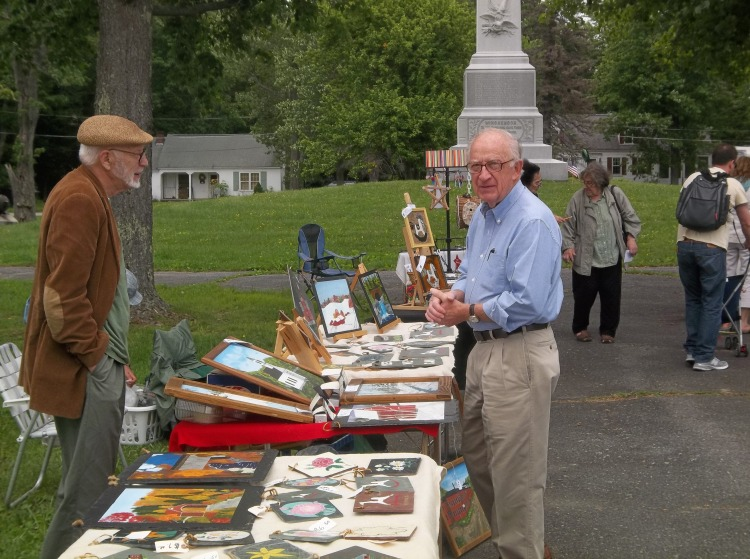 C.cada in conjunction with Winchendon's 250th Anniversary Committee recently held its first annual summer art show.