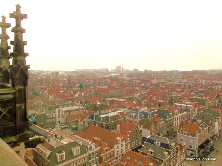 A view Of Den Hague From the Nieuwe Kerk in Delft