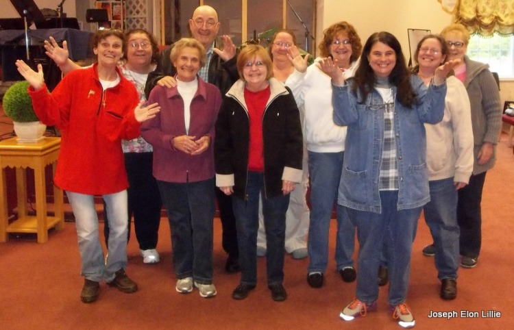 Folks from the church I am privileged to minister at