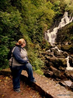 Amanda at Torc Waterfall