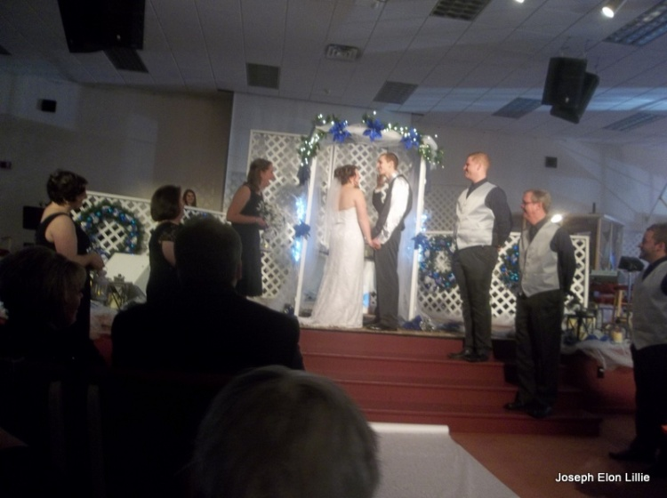 My daughter Melanie married the man of her dreams last Saturday