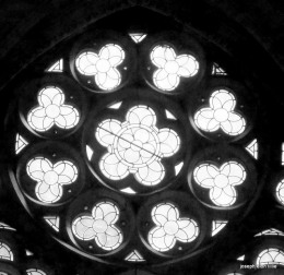 Window in the Chapel at Kylemore Abbey