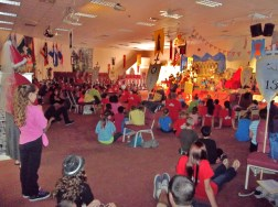 Cornerstone church's sanctuary VBS