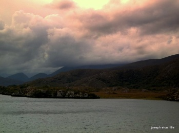 Thunderheads over the Lower Lake, Killarney