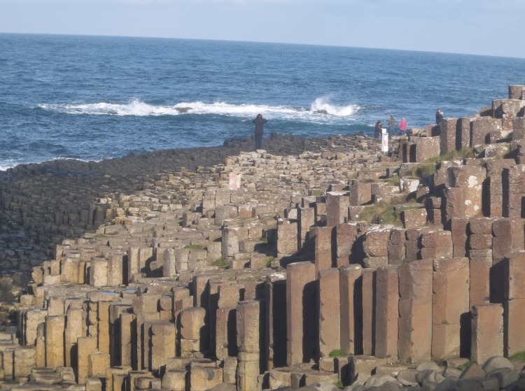 The Giant's Causeway was supposedly built by the Mischievous Giant Finn McCool.