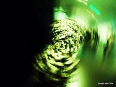 MFA Boston, Blown glass structure taken while rotating the camera