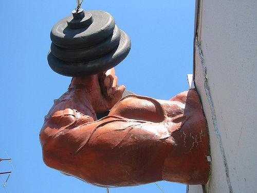 photo credit: 2005Mar-AustinTypeTour-033 - Hyde Park Gym Muscle via photopin (license)