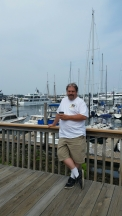 Me at the pier in Boston
