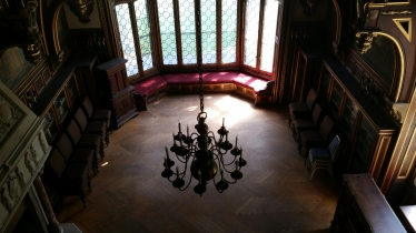 Library of the manor house. Great Barrington MA