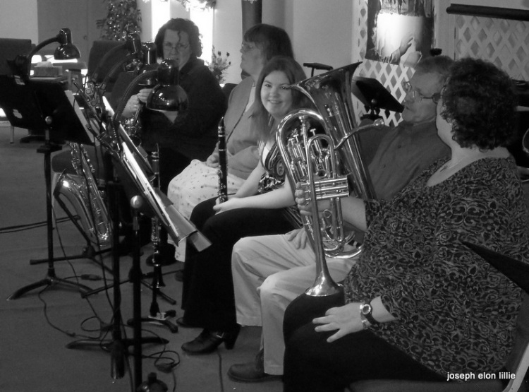 Folks in our church orchestra