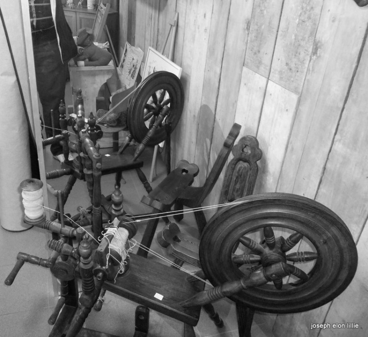 Siamese Spinning Wheels