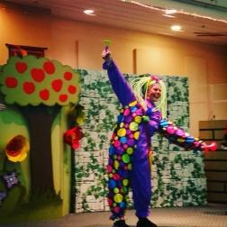Dancing clown