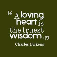 Charles Dickens quote about love.